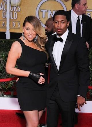 Mariah Carey com o marido Nick Cannon (Foto: Divulgação)