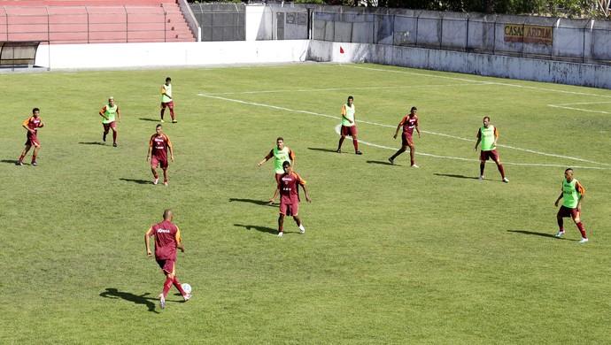 Treino CRB (Foto: Caio Lorena / GloboEsporte.com)