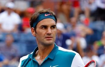 Federer passeia contra argentino 34º do mundo e avança à segunda rodada