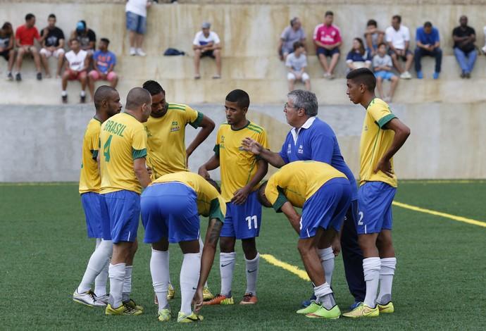 Futebol de 7 amistoso Brasil Fluminense (Foto: Fernando Gallo/Hoop Sports)