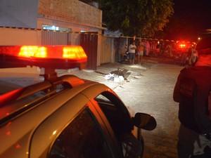 Polícia Militar esteve no Jardim Veneza, em João Pessoa, mas ninguém foi preso (Foto: Walter Paparazzo/G1)