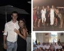 De férias, Bale anuncia noivado com namorada de infância, mãe de suas filhas