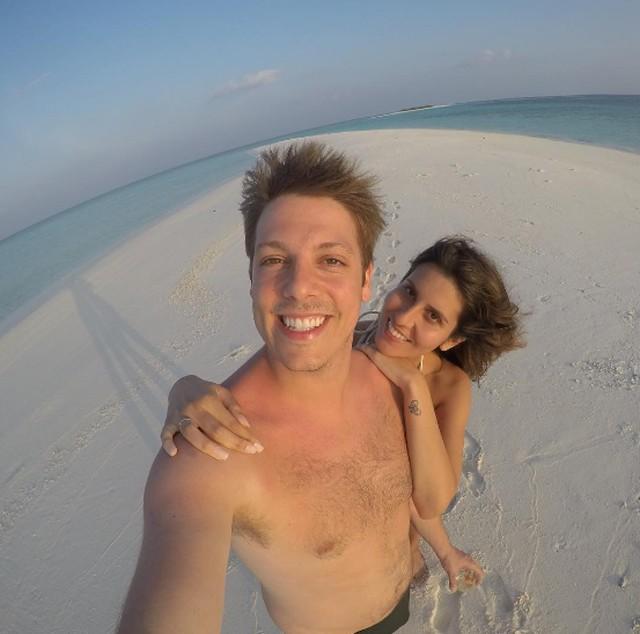 Fabio Porchat e esposa Nataly Mega (Foto: Reprodução/Instagram)