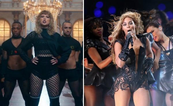 Taylor Swift e Beyoncé (Foto: Reprodução/Getty Images)