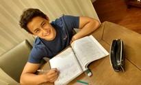 'Não me considero nerd', diz aluno nota 1.008,3 em matemática no Enem (Daniel Key Miura/ arquivo pessoal)