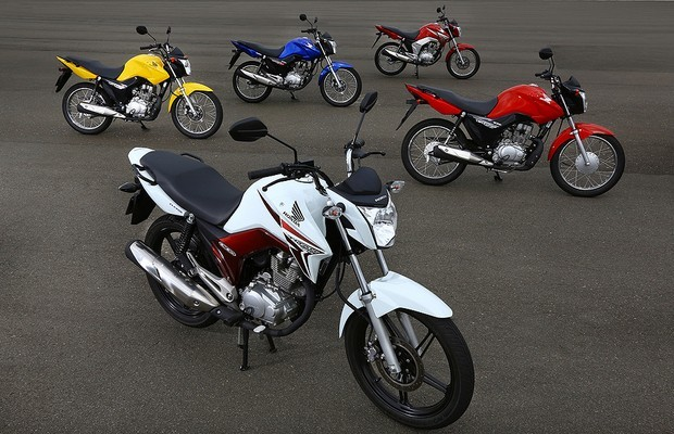 Motocicletas (Foto: Divulgação Honda)