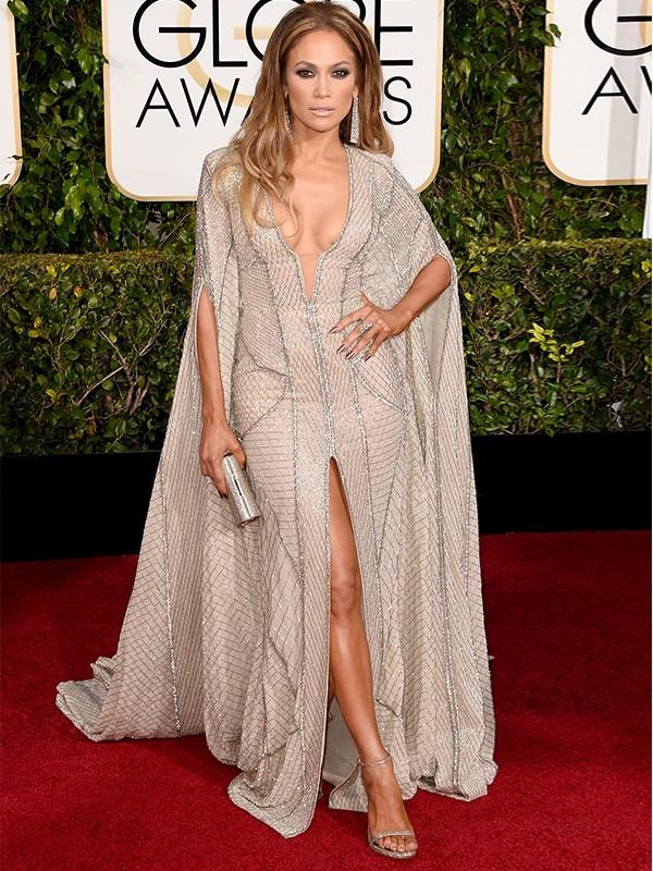 Globo de Ouro 2015 - Jennifer Lopez (Foto: Agência Getty Images)