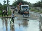 Em Parintins, aulas são suspensas por causa da cheia do Rio Amazonas