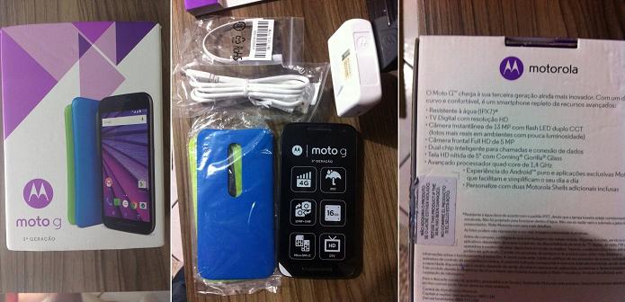 Moto G teve imagens vazadas por site de Hong Kong (Foto: Reprodução/Hello Moto HK)