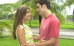 Bernando Jaque (Joana Balaguer ) e Bernardo (Thiago Rodrigues )