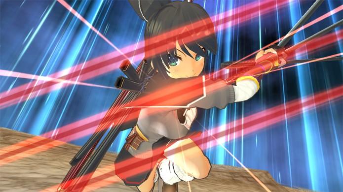Aprenda a jogar o game de ninjas com apelo erótico Senran Kagura Shinovi Versus (Foto: PS Vita Forum)