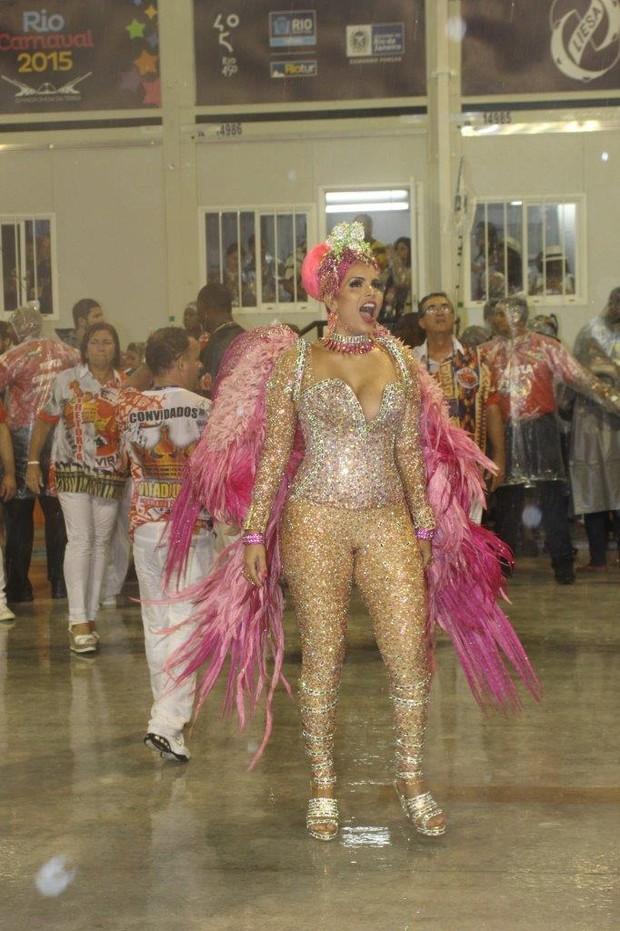 Raissa Machado na Viradouro (Foto: J. Humberto/ Ag. News)