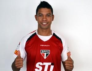 Wallyson, jogador do São Paulo (Foto: Divulgação www.saopaulofc.net)