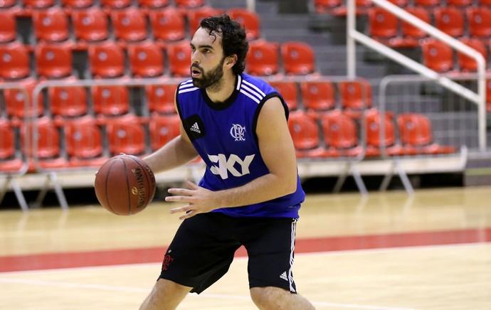 benite flamengo basquete nbb (Foto: André Durão)