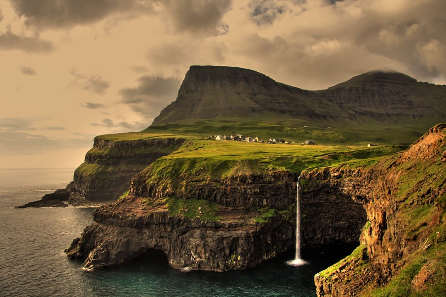 Gasadalur, das Ilhas Feroe (Foto: Divulgação)