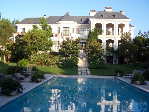 Casa de Michael Jackson (Foto: Grosby Group)