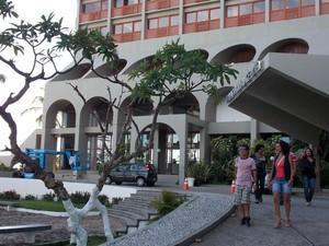 Othon Palace Hotel, em Salvador, na Bahia (Foto: Yuri Girardi/G1 BA)
