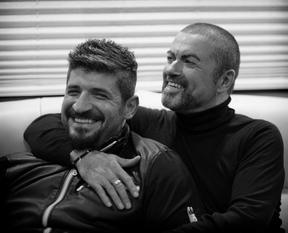 George Michael e Fadi (Foto: Reprodução/Twitter)