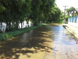 Em Araranguá, 18 pessoas ainda estavam em abrigos neste sábado (15) (Foto: Prefeitura de Araranguá/Divulgação)