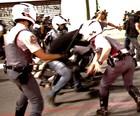Detidos em  protesto em SP  são liberados (Tiago Mazza/ Estadão Conteúdo)