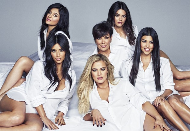 O clã Kardashian-Jenner (Foto: Reprodução)