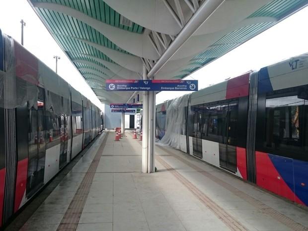 CCO ficará próximo a estação Porto, em Santos. (Foto: Guilherme Lúcio/G1)