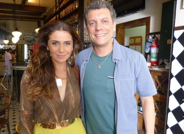 Giovanna Antonelli e Marcelo Airoldi (Foto: Salve Jorge / TV Globo)