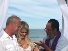 Kadu Moliterno e Cristianne Rodriguez se casam: 'Meu coração junto ao seu'