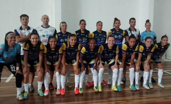 Futsal Feminino São José dos Campos (Foto: Paula Franco/ TV Vanguarda)