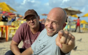 Veja fotos dos bastidores da terceira temporada de 'Food Truck'
