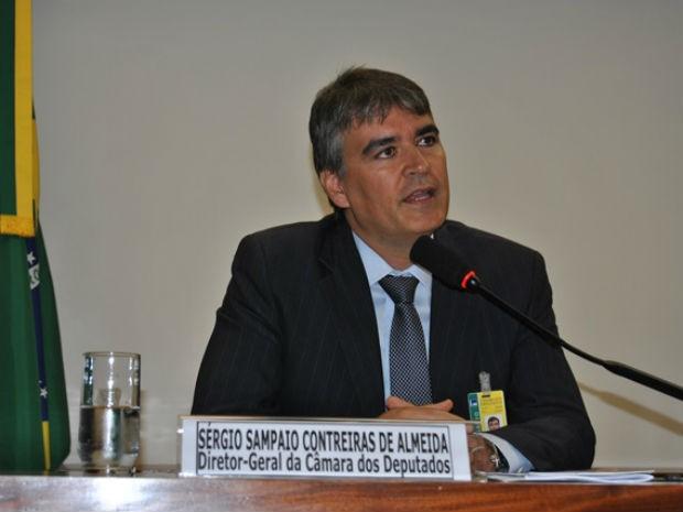 Diretor-geral da Câmara dos Deputados, Sérgio Sampaio, que assumirá Casa Civil do Distrito Federal (Foto: Estefânia Uchôa/Câmara dos Deputados/Divulgação)