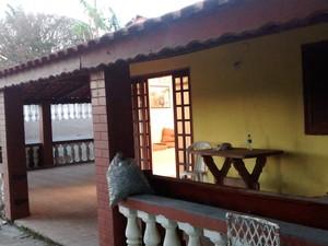 Sítio fica no bairro Sacaffid II em Itaquaquecetuba (Foto: Pedro Carlos Leite /G1)