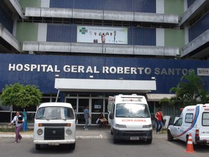 Hospital Roberto Santos  (Foto: Ruan Melo/G1)