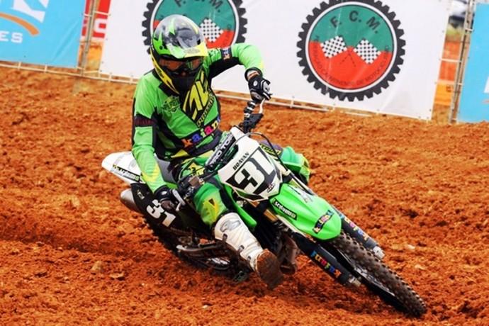 José Bryan Motocross (Foto: Divulgação / Federação Catarinense de Motociclismo)