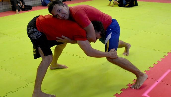 Lutador Adriano Pedra, irá fazer sua estreia em lutas de MMA, durante o 3º Amazon Combat (Foto: Quésia Melo)