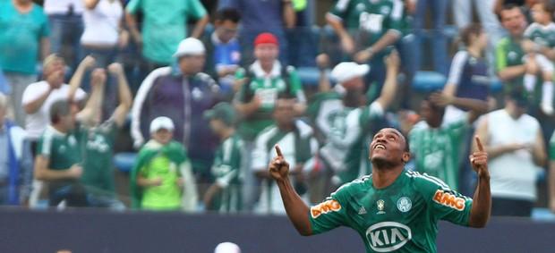 Obina gol Palmeiras (Foto: Roberto Vazquez / Futura Press)