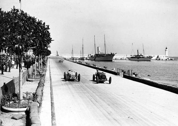 Primeira edição do GP de Mônaco foi disputada em 1929  (Foto: Divulgação)