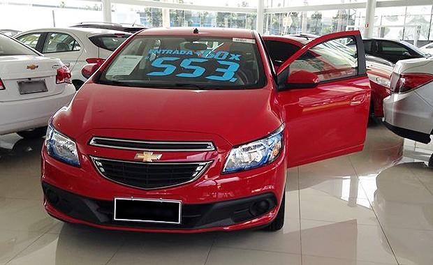 Chevrolet Onix Lollapalooza (Foto: Giulia Lanzuolo/ Autoesporte)