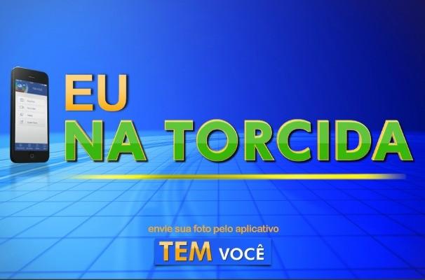 'Eu na Torcida' vai receber as fotos dos torcedores pelo hexa do Brasil (Foto: Arte/TV TEM)
