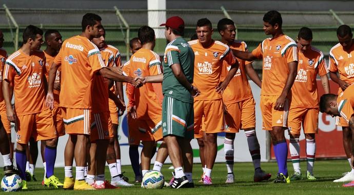 Treino Fluminense Laranjeiras (Foto: Nelson Perez / Fluminense FC)