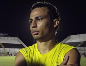 Gilmar, atacante do ABC (Foto: Tiago Menezes)