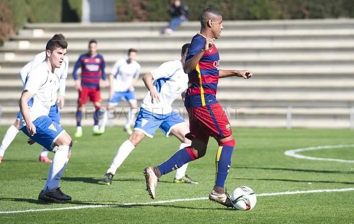 robert barcelona b fluminense (Foto: Victor Salgado / FCB)