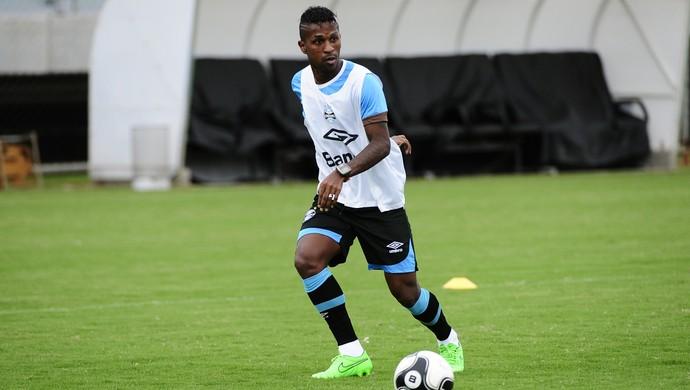 Bolanos treino com bola Grêmio (Foto: Ronaldo Bernardi/Agência RBS)