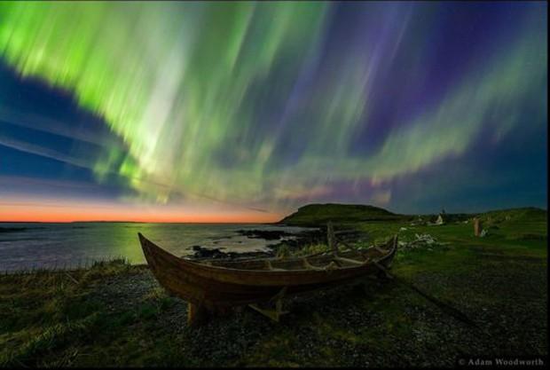 O vencedor na categoria Beleza foi Adam Woodworth, dos EUA, com essa foto tirada em Newfoundland, no Canadá. (Foto:  Adam Woodworth  )