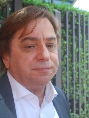 Arnaldo Tirone, presidente do Palmeiras (Foto: Marcos Guerra/Globoesporte.com)