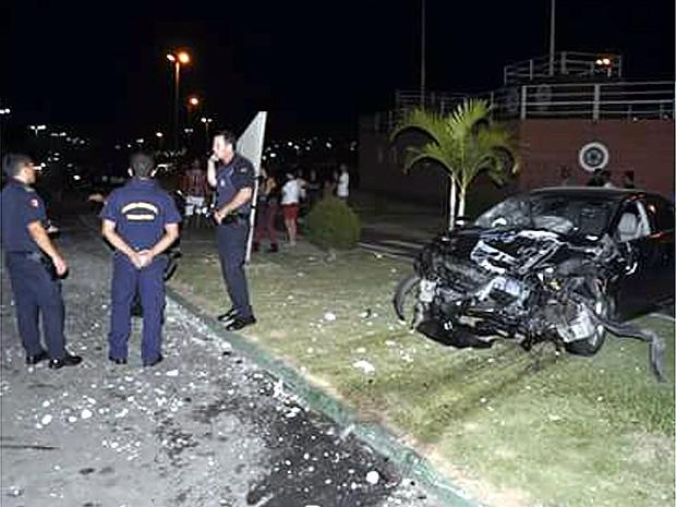 Carro atropela  e mata adolescente de 14 anos em Indaituba  (Foto: Divulgação Guarda Municipal Indaiatuba)