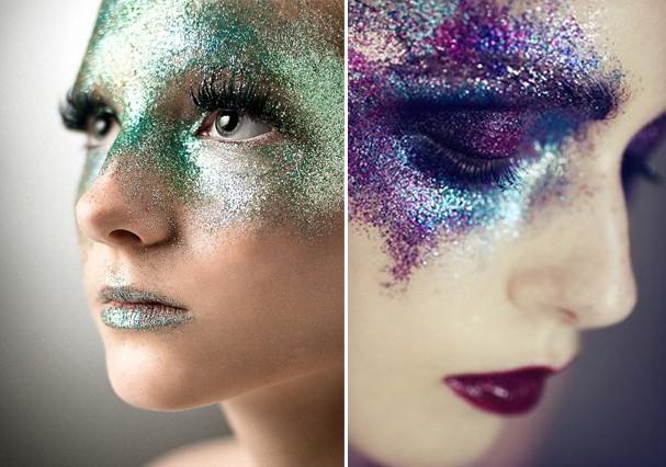 Glitter: quanto mais, melhor! (Foto: Reprodução/Pinterest)