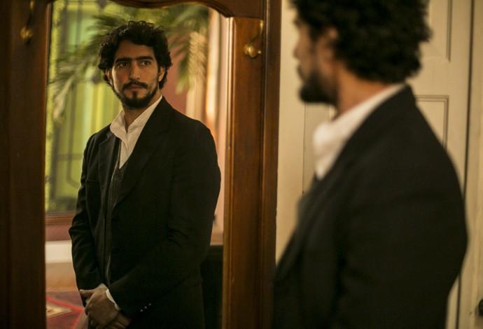Renato será confidente e parceiro de personagem de Selton Mello (Foto: Inácio Moraes/Gshow)