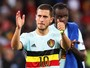 Hazard acha que Bélgica é melhor do que Gales e culpa falta de coragem