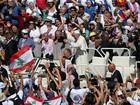 Papa oferece pizzas a desabrigados após canonização de Madre Teresa
